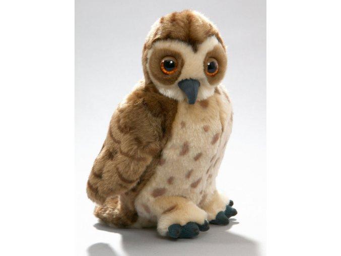 Plyšová sova zvuková 20 cm - plyšové hračky