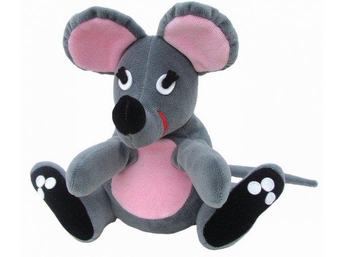 Maňásek myška 25 cm