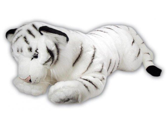 Plyšový tygr bílý 70 cm - plyšové hračky