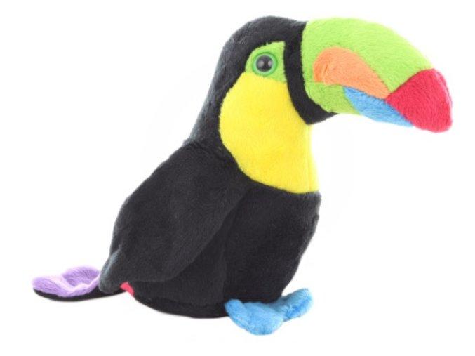 Plyšový tukan 15 cm - plyšové hračky