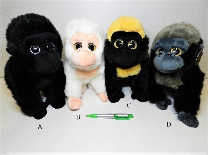 Plyšová gorila 25 cm - plyšové hračky