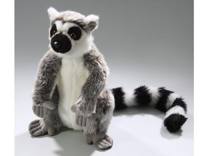 Plyšová opice lemur 28cm - plyšové hračky