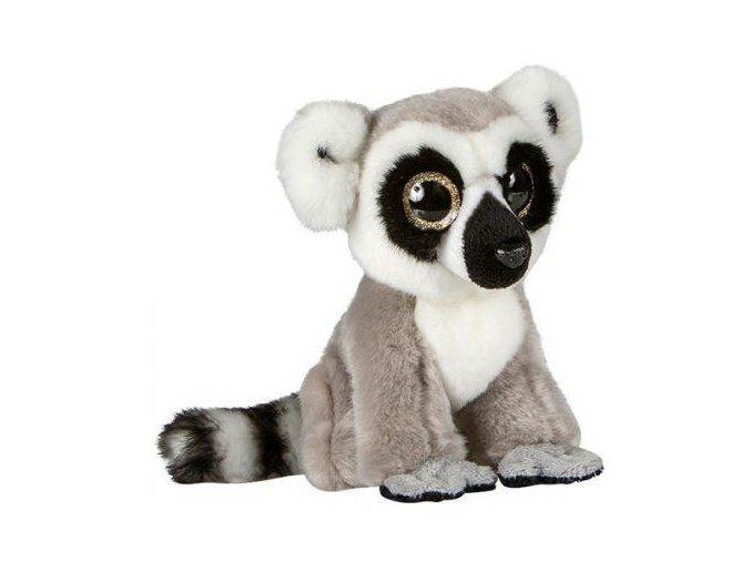 Plyšový lemur 20 cm - plyšové hračky