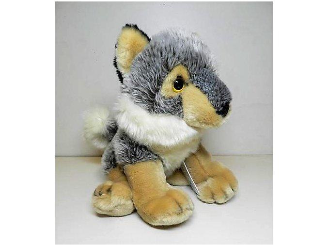 Plyšový vlk 23 cm - plyšové hračky