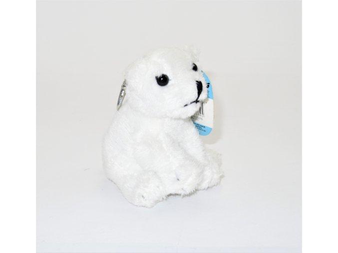 Plyšový lední medvěd klíčenka 7 cm - plyšové hračky