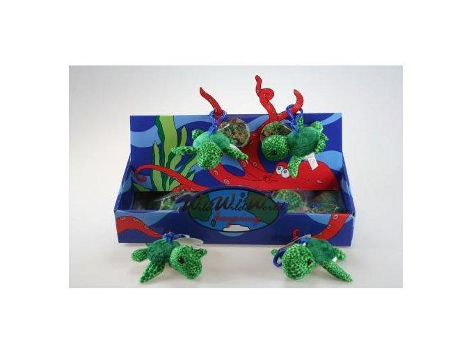 Plyšová želva klíčenka 10 cm - plyšové hračky
