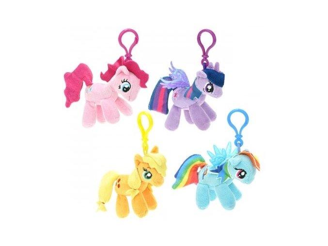 Plyšový My Little Pony přívěsek 8 cm - plyšové hračky