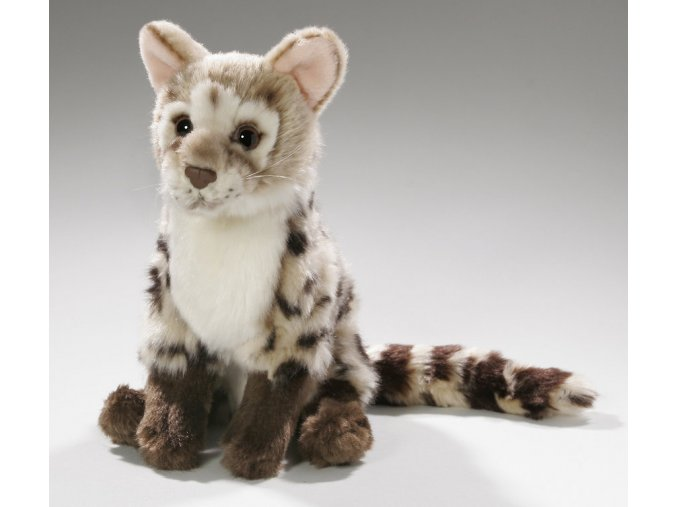 Plyšová kočka divoká 21 cm - plyšové hračky