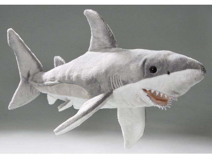 Plyšový žralok 50 cm - plyšové hračky
