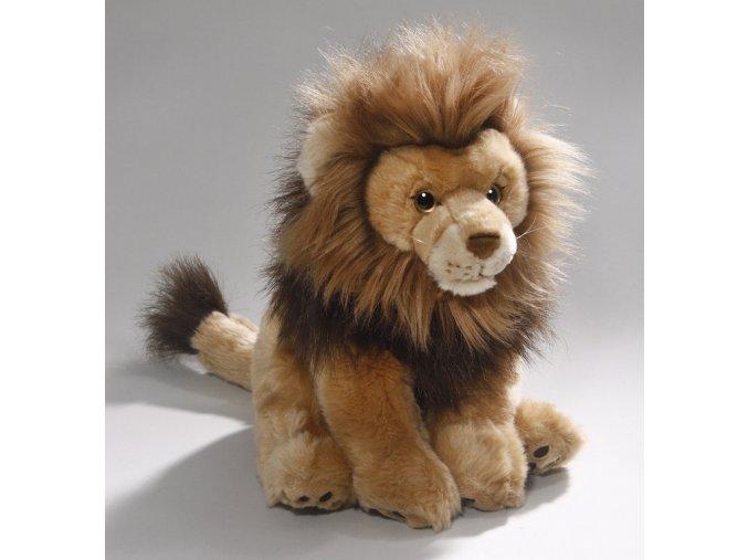 Plyšový lev 30 cm - plyšové hračky
