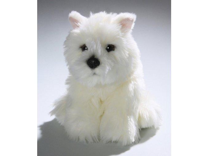 Plyšový pes westík 23 cm - plyšové hračky