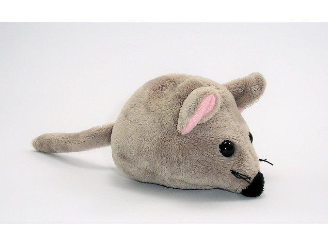 Plyšová myš 11 cm - plyšové hračky