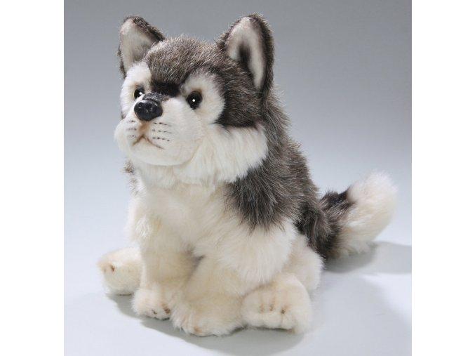 Plyšový vlk 22 cm - plyšové hračky