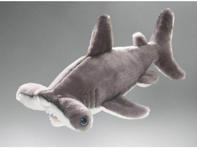 Plyšový žralok kladivoun 35 cm - plyšové hračky