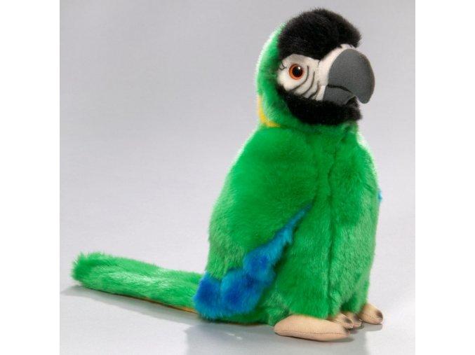 Plyšový papoušek 28 cm - plyšové hračky