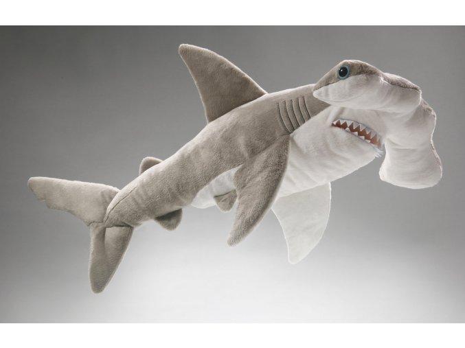 Plyšový žralok kladivoun 50 cm - plyšové hračky