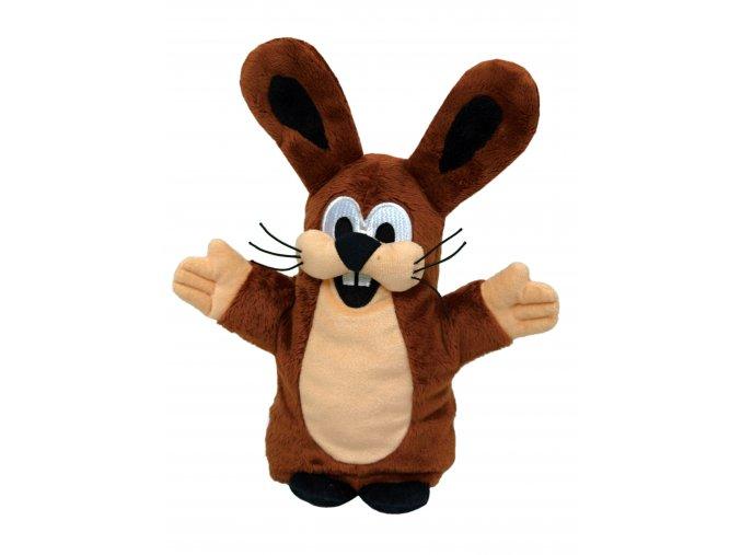 Plyšový Zajíc 28cm, maňásek - plyšové hračky