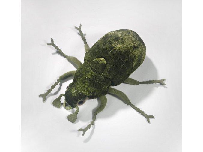 Plyšový brouk zelený 18 cm - plyšové hračky