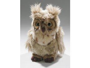 Plyšová sova 18 cm - plyšové hračky