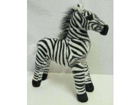 Plyšová zebra 33cm - plyšové hračky