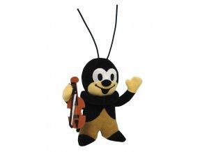 Plyšový Cvrček 22cm, s housličkami - plyšové hračky
