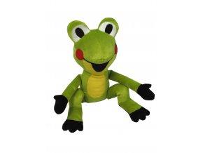 Plyšová Žabka 20cm, sedící - plyšové hračky