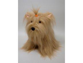 Plyšový pes Niky 35 cm - plyšové hračky