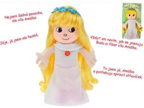Plyšová víla Amálka mluvící 20cm - plyšové hračky