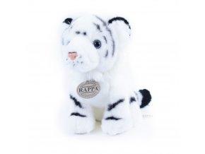 Plyšový tygr bílý 18 cm - plyšové hračky