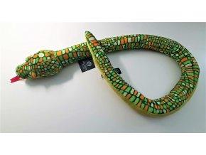 Plyšový had 120 cm - plyšové hračky