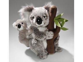 Plyšová koala s mládětem 25 cm - plyšové hračky