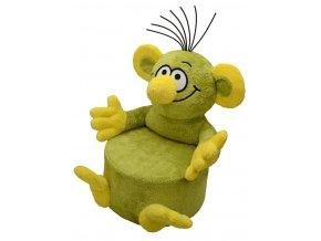 Plyšová sedačka Rákosníček 60 cm - plyšové hračky