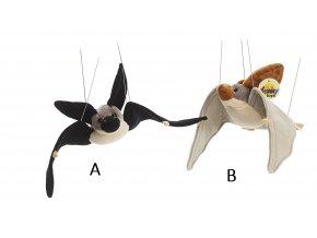 Plyšový netopýr 45 cm - plyšové hračky