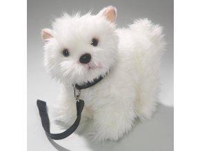 Plyšový pes westík 25 cm - plyšové hračky