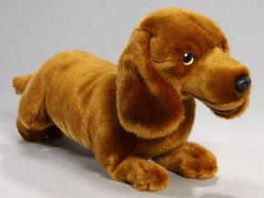 Plyšový jezevčík 26 cm - plyšové hračky