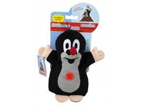 Plyšový krteček mluvící maňásek 20cm - plyšové hračky
