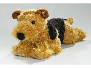 Plyšový foxteriér 40 cm - plyšové hračky