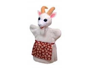 Plyšová koza maňásek 29cm - plyšové hračky