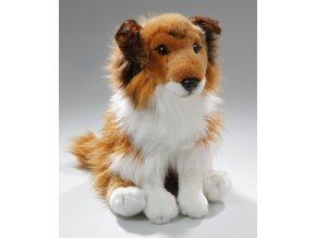 Plyšový pes kolie 30 cm - plyšové hračky