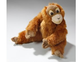 Plyšová opice orangutan 23 cm - plyšové hračky