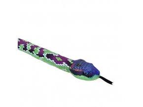 Plyšový had 140 cm - plyšové hračky