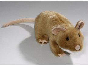 Plyšová krysa 19 cm - plyšové hračky