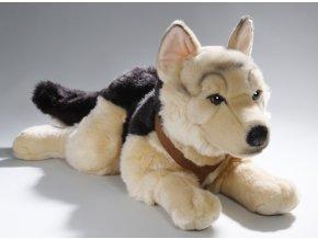 Plyšový německý ovčák 65 cm - plyšové hračky