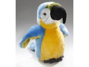 Plyšový papoušek 22 cm - plyšové hračky