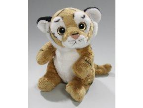 Plyšový tygr 15 cm - plyšové hračky