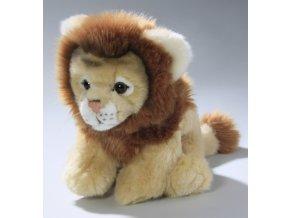 Plyšový lev 23 cm - plyšové hračky