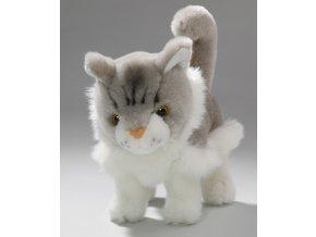 Plyšová kočka 15 cm - plyšové hračky