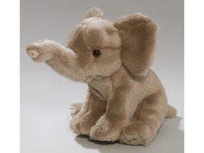 Plyšový slon zvukový 26 cm - plyšové hračky
