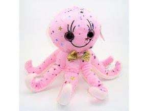 Plyšová chobotnice 30 cm - plyšové hračky