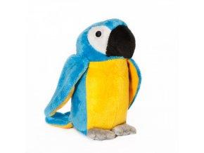 Plyšový papoušek 15cm - plyšové hračky